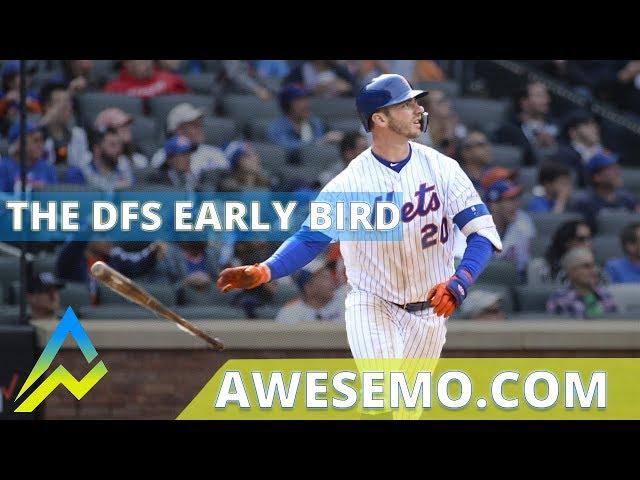 The DFS Early Bird Top MLB Plays Yahoo DraftKings FanDuel 08212019