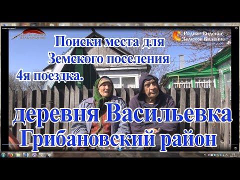 Поиски места для Земского поселения 4. Васильевка Грибановский р-н.
