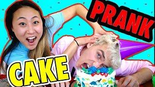 connectYoutube - CAKE PRANK ON STEPHEN SHARER (I GOT HIM BACK)
