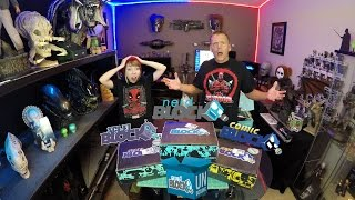 Mega Nerd Block Unboxing - Classic Nerd - Comic & Scifi Grab Blocks November 2016 | Guru Reviews