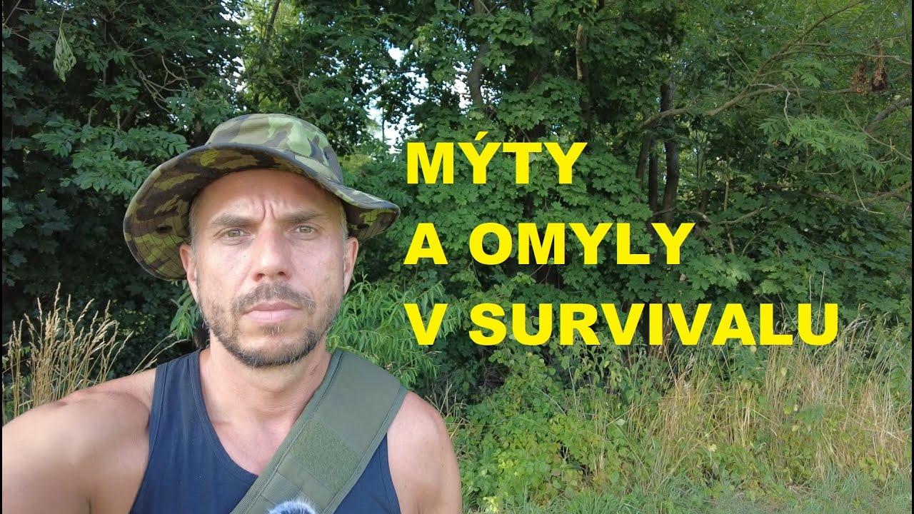 MÝTY a OMYLY Survivalu