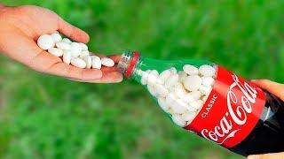 Die 7 verrücktesten Coca Cola Experimente