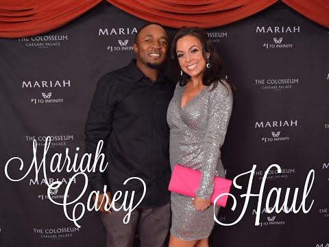 mariah carey concert + haul!