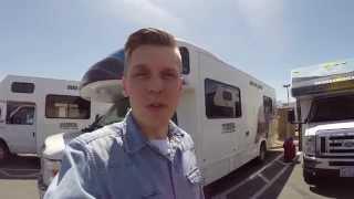 Amerikan Road Trip matkailuautolla 1/18 - Matka alkakoon