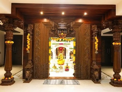Latest South Indian Pooja Room Designs Mandir Designs Youtube