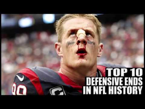 Top 10 Best Defensive Ends in NFL History