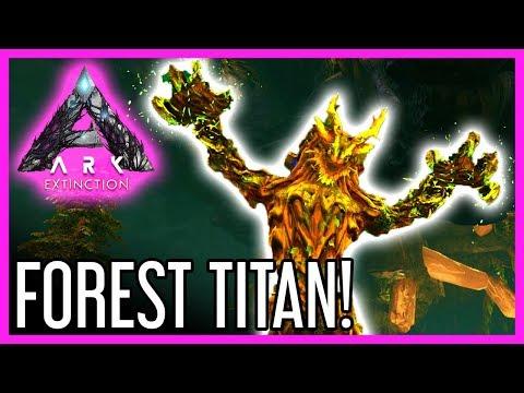 Forest Titan Guide For ARK: Extinction