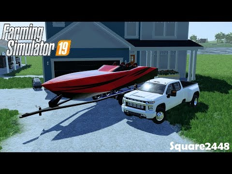 Buying Speed Boat | New Driveway | Lake House | Homeowner | Farming Simulator 19
