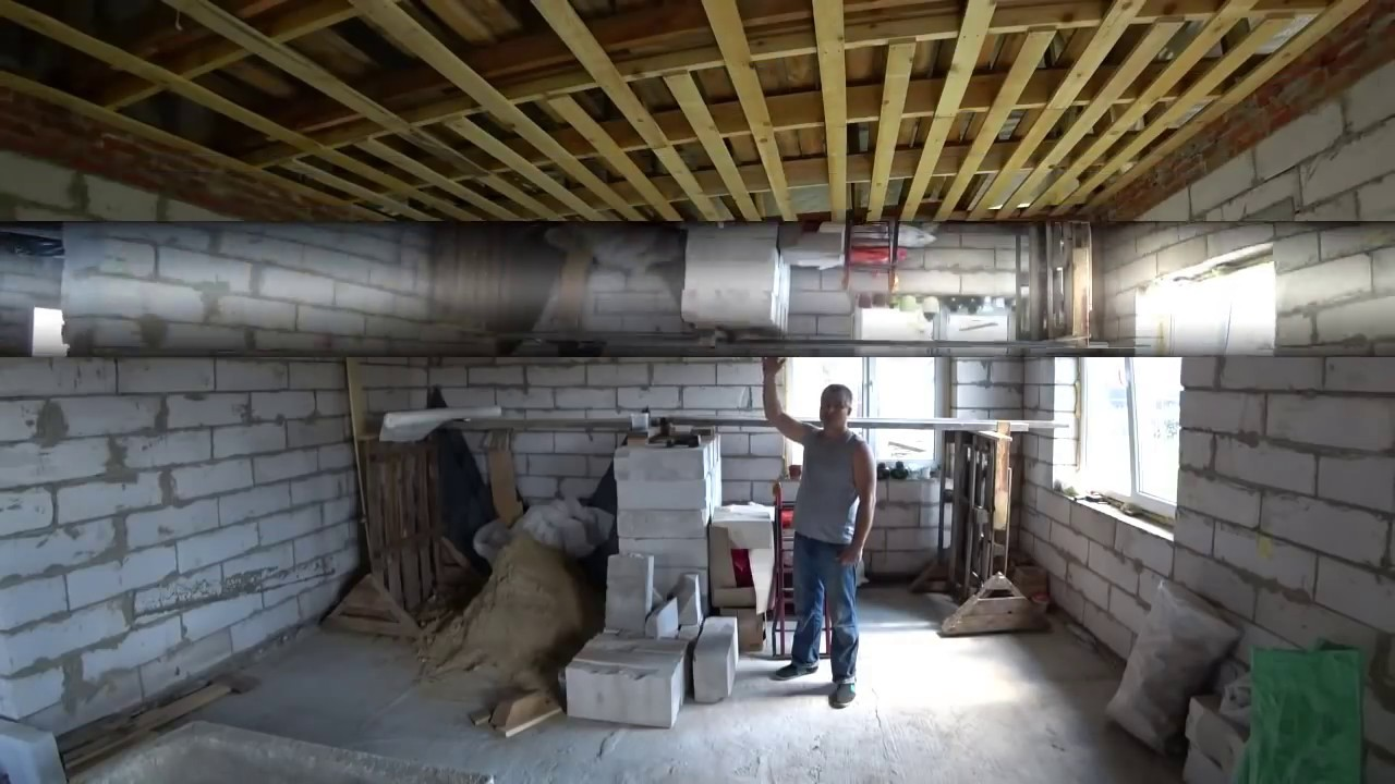Пароизоляция потолка.Утепление потолка  своими руками!!!insulation of the ceiling with his hands