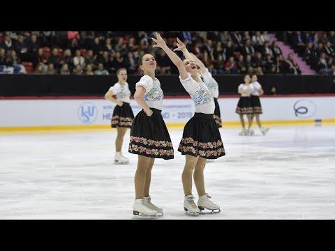 Team Olympia (CZE) | Short program | Helsinki 2019 | #WorldSynchro