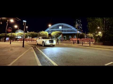 Wedding car hire Manchester, Rolls Royce Phantom, white Phantom