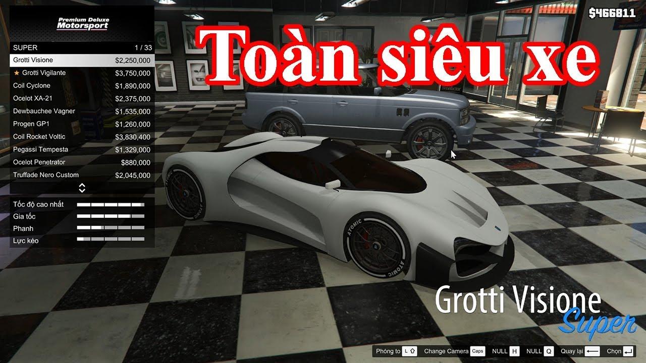 [GTA5 Mod] Hướng dẫn mod CAR SHOP mới nhất! Toàn siêu xe!