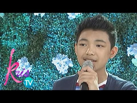 Kris TV: Darren belts out 'You Are Not Alone'