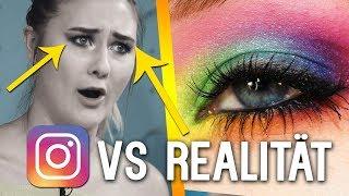 ♥ Instagram Rainbow Makeup Vs. Reality ♥ | Beautygram mit Sara Isabel