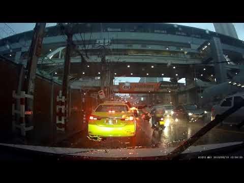 Viofo WR1 Dashcam - Rainy