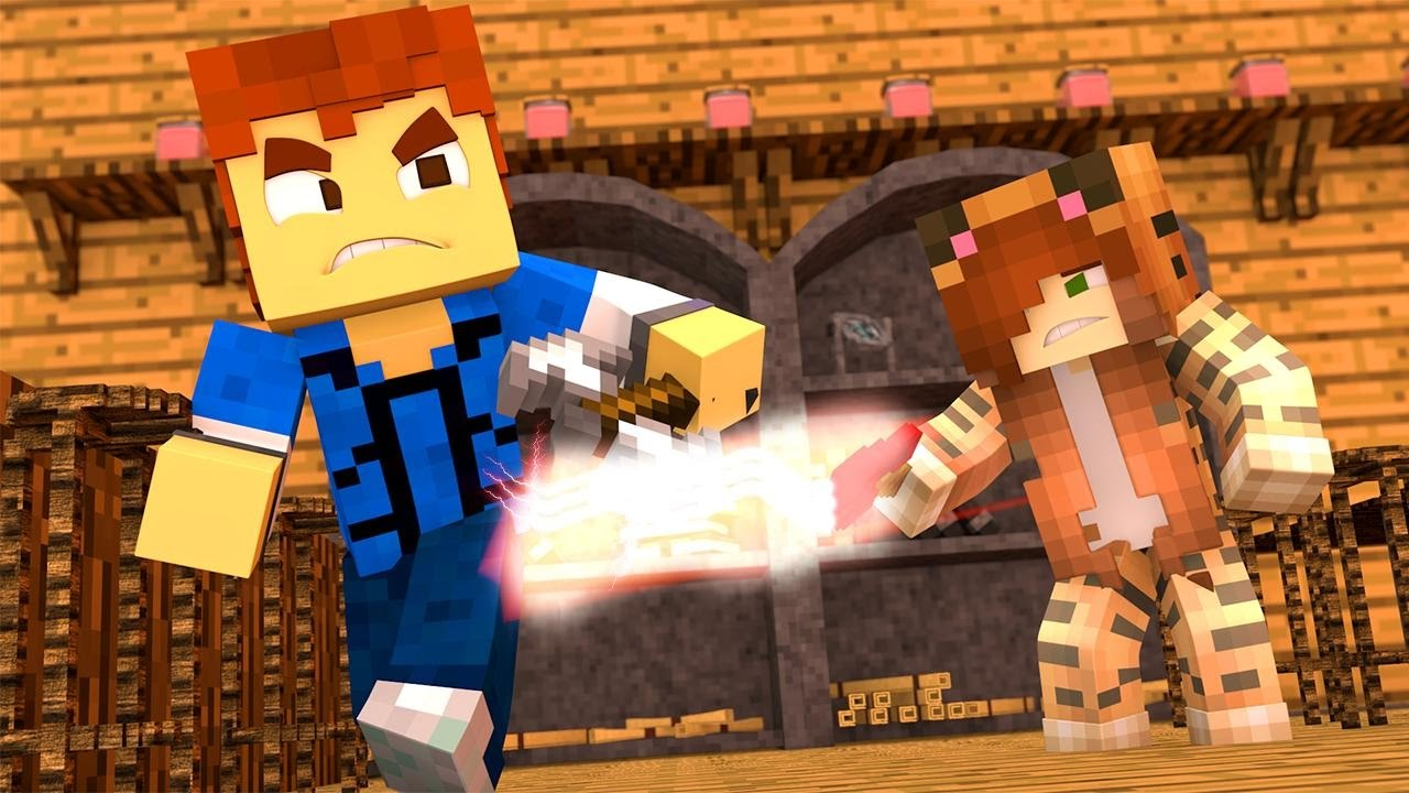 Minecraft Recess - DUNGEONS AND DRAGONS !? - YouTube