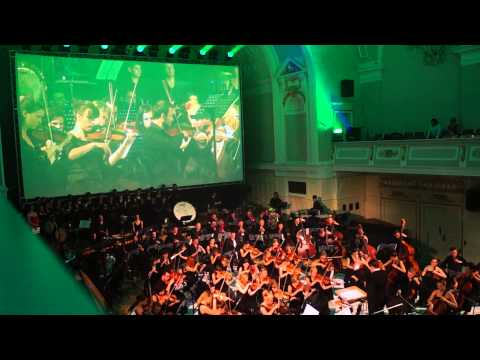 Harry Gregson-Williams & John Powell - Shrek (Varese Sarabande Concert, Poznan 2013)