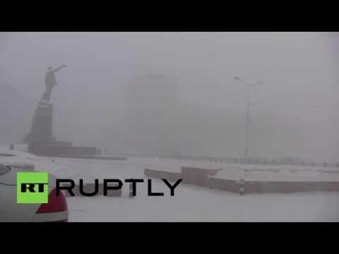 Russia: Temperatures Drop To -46 In Yakutia