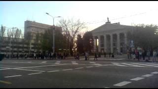 Донецк. Репетиция военного парада в честь Дня победы 9 мая(, 2015-05-05T16:59:29.000Z)