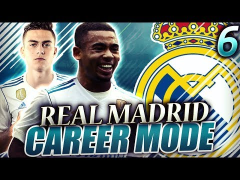 FIFA 18 Real Madrid Career Mode #6 - GABRIEL JESUS IS A BIG TIME PLAYER! MADRID DERBY IS INSANE!!!