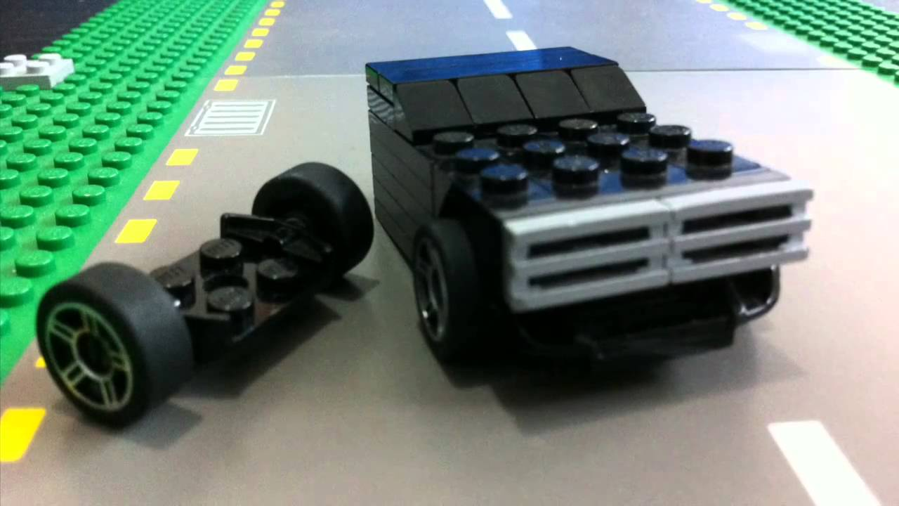 How To Make A Lego Mini Muscle Car- iPhone 4 iMovie Edit 720p ...