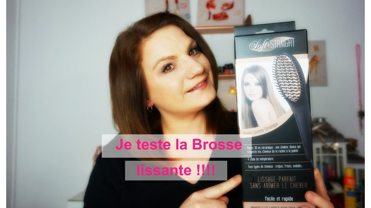 je teste la brosse lissante youtube. Black Bedroom Furniture Sets. Home Design Ideas