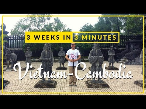 3 Weeks in 3 Minutes - Vietnam Cambodia | Inspirational Travel Video