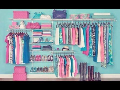 Ideas Para Tu Closet Económico Barato Y Muy Bonito Hogar