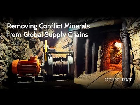 OT - Conflict Minerals Reporting Solution
