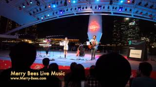 Merry Bees Live Music - HBBBS performs Counting Stars Medley