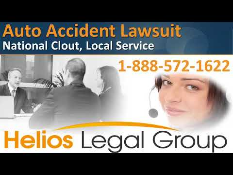 Auto Accident (Automobile Accident) Lawsuit - Helios Legal G