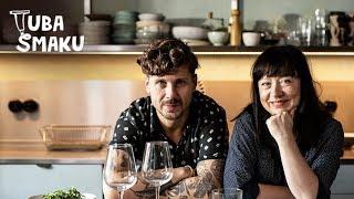 Wegański omlet i wegańskie wino!  | Tuba Smaku: Michał i Iza