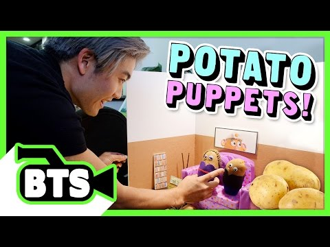 Potato Puppets! (BTS)