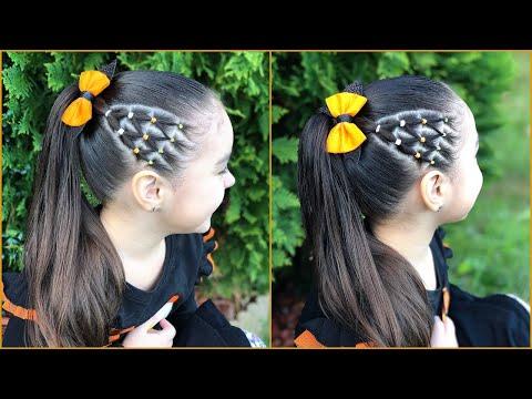 Peinado Con Coleta Alta Y Ligas En Triangulocomo Hacer Una