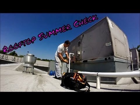 Charge A Carrier Roof Top Unit System