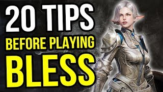 Bless Online - 20 Tips For Your First Day In This New MMORPG