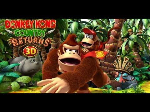 «GG-TRAILER» Donkey Kong Country Returns 3D - History Trailer (Nintendo 3DS)