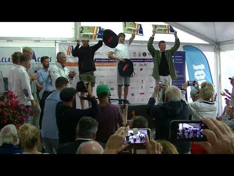 Prize Giving Ceremony A-Class Worlds 2017 Sopot Part 2