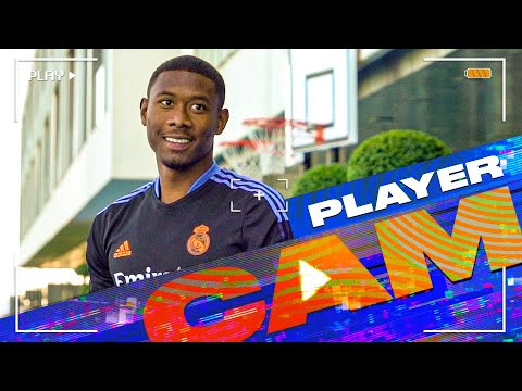Download DAVID ALABA's first TRAINING session at Real Madrid