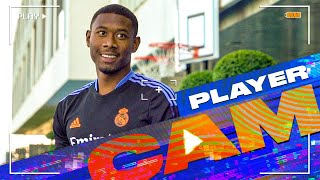 DAVID ALABA's first TRAINING session at Real Madrid