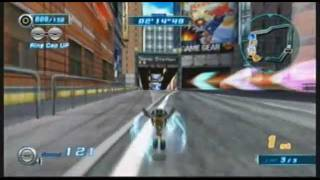 Sonic Riders: Zero Gravity - [Boulevard/Heroes/Cream] - Crazy Taxi in the 80s Boulevard is...