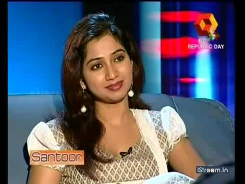 Shreya Ghoshal Kairali TV INTERVIEW Part 1