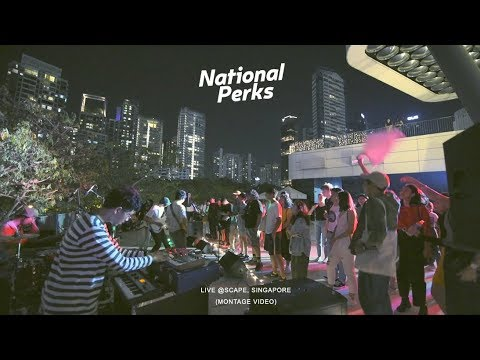 National Perks @Scape, Singapore (Montage Video)