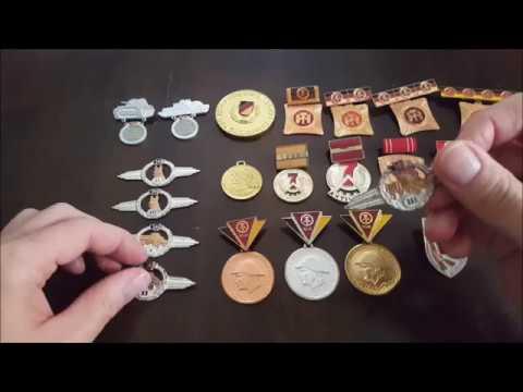 Orden und Abzeichen DDR