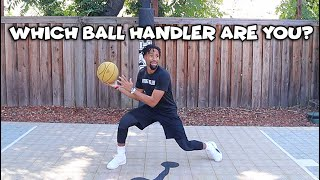 The Different Types Of Ball Handlers During Layup Lines..