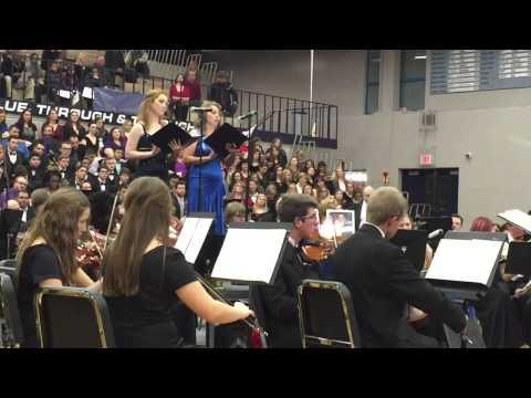 Oak Park's 2014 Messiah. Dustin Gier, Concert Master
