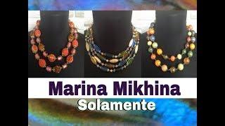 Украшения из муранского стекла Марины Михиной (укороченная версия) Solamente/Цветные фантазии