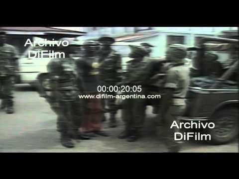 President Samuel Doe - National Guard Liberia 1990