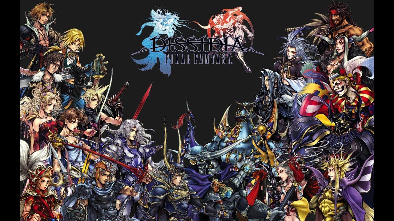 Dissidia Final Fantasy (The Movie) ALL Cutscenes