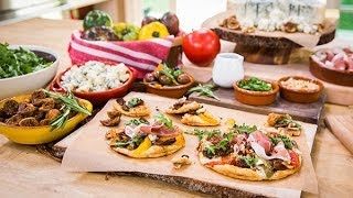 Home & Family - Chef Pascal Lorange Cooks Fig Gorgonzola Tartlet